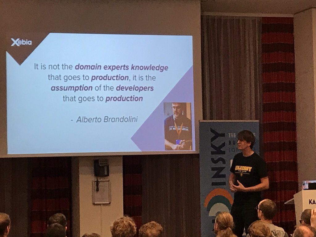 The knowledge of the product experts may differ from the assumption of the developers